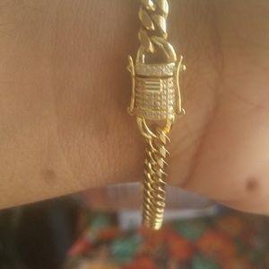 Iced clasp miami Cuban bracelet